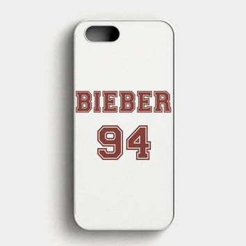 Justin Bieber Journals iPhone SE Case