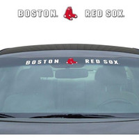 "Boston Red Sox 35""x4"" Windshield Decal"