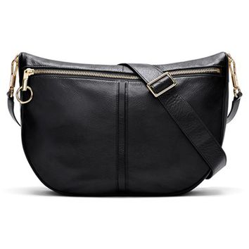 Elizabeth and James 'Scott Moon' Leather Crossbody Bag