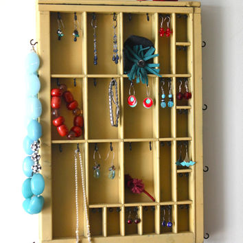 Small Printer Drawer Jewelry Display