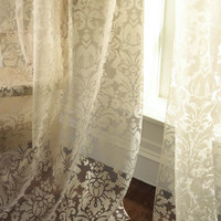 Dian Austin Couture Home Olivia Damask-Print Curtains