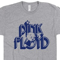 Pink Floyd T Shirt The Wall Dark Side Of the Moon Shirt
