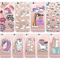 Fun Unicorn Style Phone Case