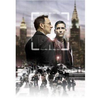 Person Of Interest poster Metal Sign Wall Art 8in x 12in