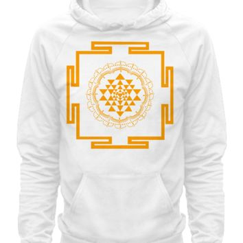 Sri Yantra, shirts-yellow sriyantrashirts