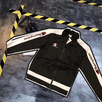 Champion Two-way Embroidery Jacket