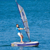 The Inflatable Windsurfer And Sailboat - Hammacher Schlemmer