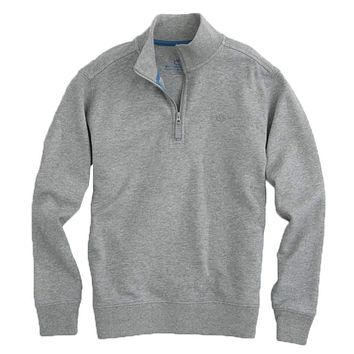 Boys' Heathered Skipjack Quarter Zip Pullover by Southern Tide