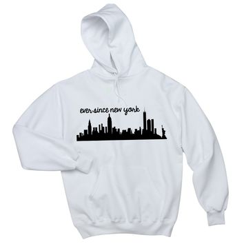 "Harry Styles ""Ever Since New York"" Skyline Unisex Adult Hoodie Sweatshirt"