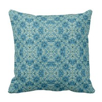 Modern Baroque Pattern Throw Pillow