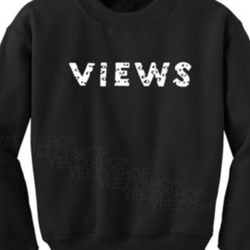 New 2016 Drake Views from the 6 Logo T Shirt with Gold Owl Premium Fashion Quality