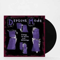 Depeche Mode - Songs Of Faith and Devotion LP- Black One