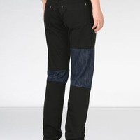 Maison Margiela Black Patchwork Jeans Women |