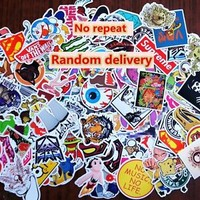 50 MIX skateboard sticker lot laptop snowboard car Fridge surf vinyl decal