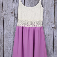 Summer Fling Dress - Lavender
