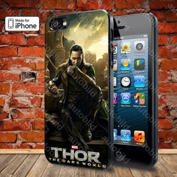 Thor Loki Odin Malekith Case For iPhone 5, 5S, 5C, 4, 4S and Samsung Galaxy S3, S4