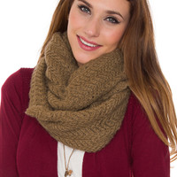 Windsor Infinity Scarf - Taupe