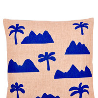 Palm Peaks Pillow