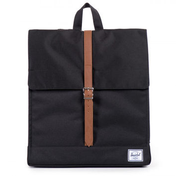 Herschel Supply Co. Black City Mid-Volume Backpack