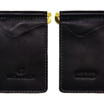 Made In Mayhem - Madison Money Clip Wallet (Jet Black)