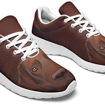 Real Chocolate Lab Sneakers