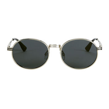 Unpredictable Bright Gold Circle Sunglasses