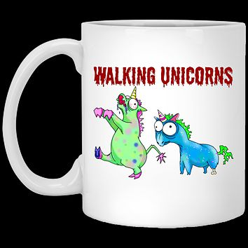 Walking Unicorns Funny Mug, Unicorn Gifts