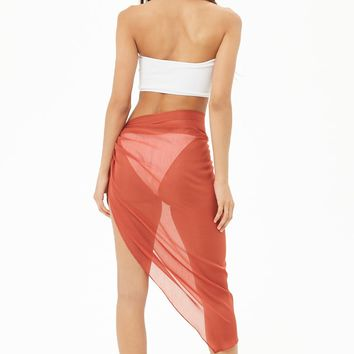Wrap Sarong Swim Cover-Up