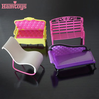 2016 New 1 pcs lot Bathroom Sofa Doll Accesories For Barbie Dolls Monster High dolls for Baby Girl Decorations Toys #T03008