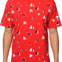 Odd Future Sinking Ship Earl Red Tee Shirt at Zumiez : PDP