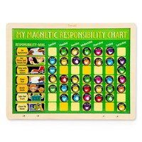 Toddler Melissa & Doug Personalized 'My Magnetic Responsibility' Chart