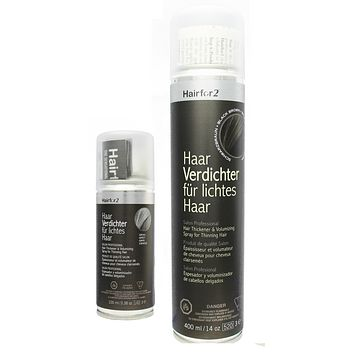 Hairfor2 Hair Loss Thickening Fiber Spray  10 Colors 100ml