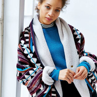 Without Walls 2-in-1 Blanket Wrap Poncho - Urban Outfitters