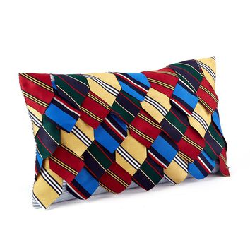 Harvard Ties Throw Pillow