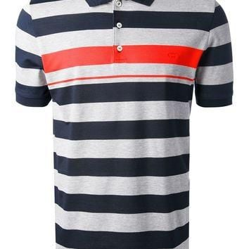 Salvatore Ferragamo Striped Polo Shirt