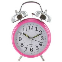 Hot Pink Metal Double Bell Alarm Clock | Shop Hobby Lobby