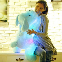 LED Glowing Dogs Children Toys 1pc 50cm