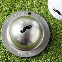 Make Stache Golf Balls with Tin Cup