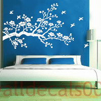 Cherry BlossomInterior Wall Removable Vinyl Decal by walldecals001