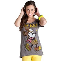Aviator Mickey Mouse Tee for Women | Tops | Disney Store