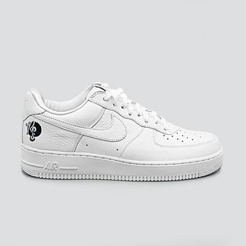spbest NIKE - Men - Air Force 1 07 ROCAFELLA - White