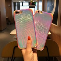 DCCKUNT The New Bling Radiant Pattern Iphone X  8 8PLUS 7 7 Plus 6 6S 6 Plus 6S Plus Cover Case