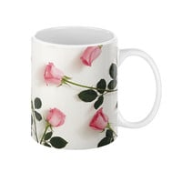 PRETTY ROSE COFFEE MUG