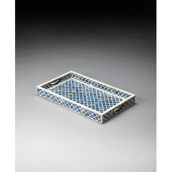 Butler Meknes Bone Inlay Serving Tray