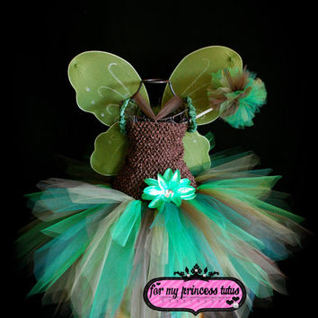 Woodland Fairy Tutu Dress/Costume