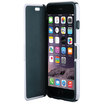 SPECK SPK-A3590 iPhone(R) 6/6s CandyShell(R) Wrap Case (White/Charcoal Gray)