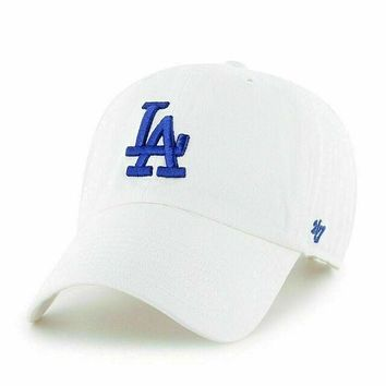LOS ANGELES DODGERS WHITE '47 CLEAN UP