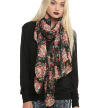 The Book Of Life Skull Scarf