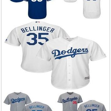 Los Angeles Dodgers 35 Cody Bellinger Jersey Flexbase Cool base Stitched Baseball Jerseys White Grey Blue Home Away Accept Mix Orders