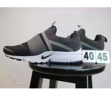 NIKE AIR PRESTO EXTREME Women Men Fashion Running Sport Casual Shoes gray